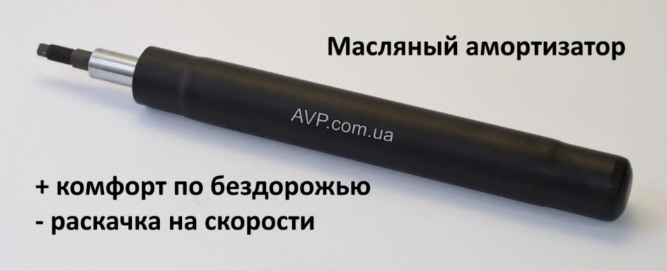 Передний масляный амортизатор Ланос/Сенс