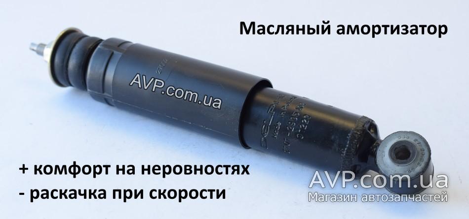 Передний масляный амортизатор ВАЗ 2101-2107